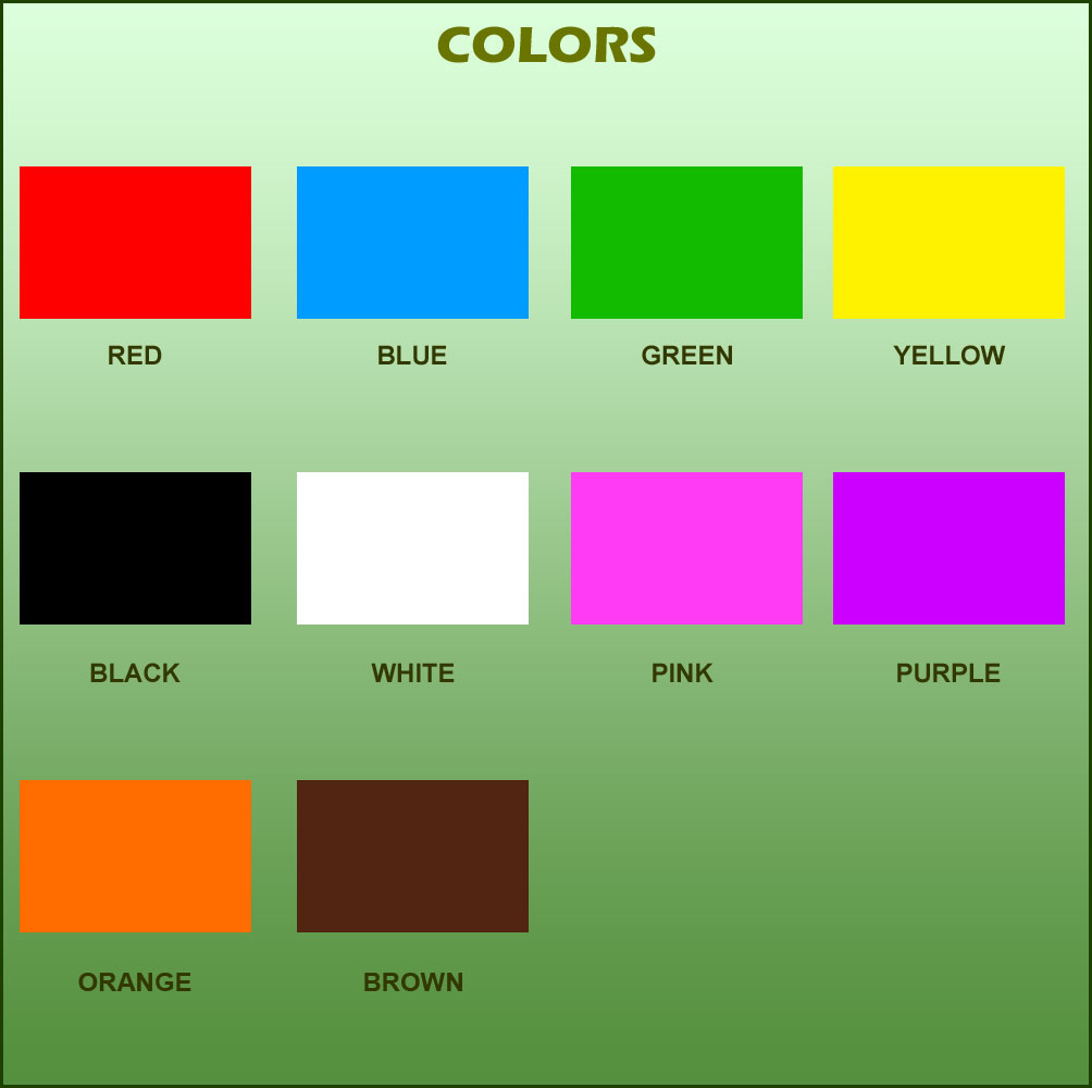 Teaching Children About Colors — Crafthubs
